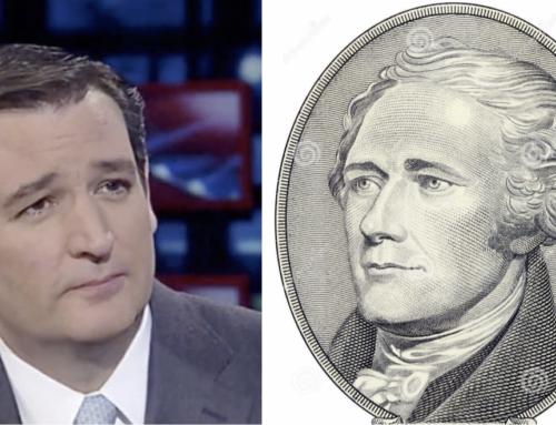 A question for Senator Ted Cruz