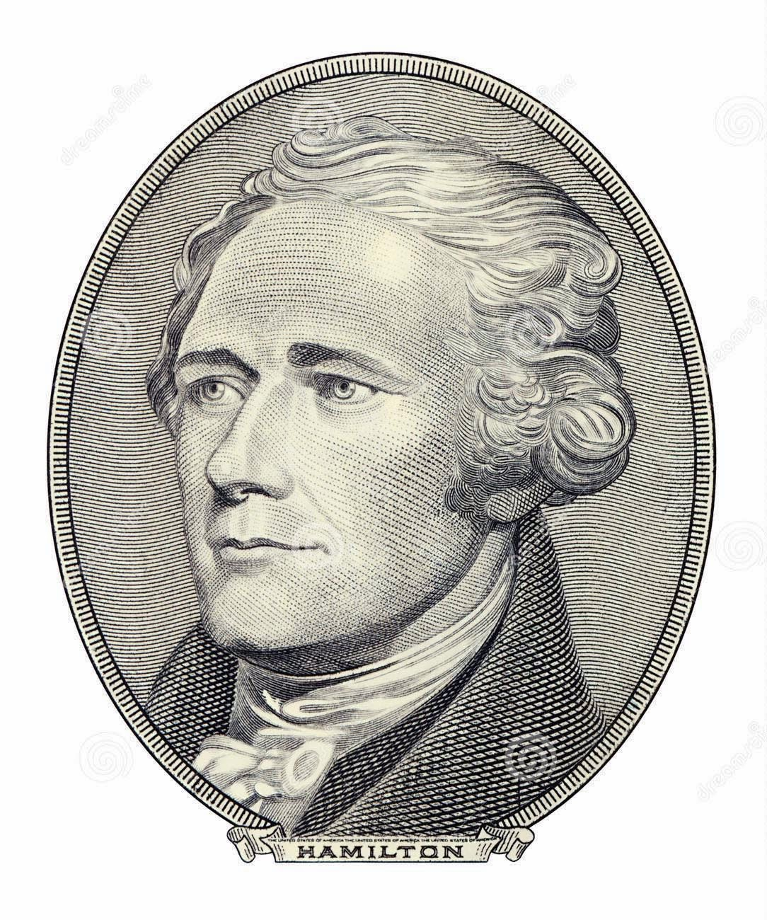 Engraving of Alexander Hamilton
