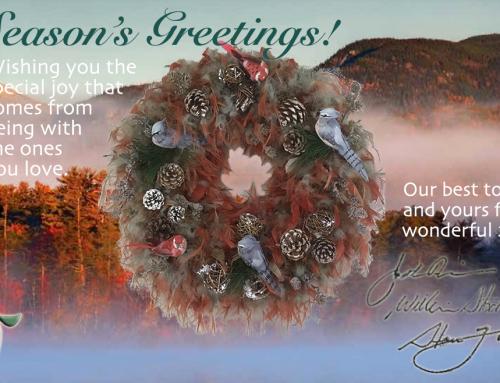 Holiday Greetings 2018
