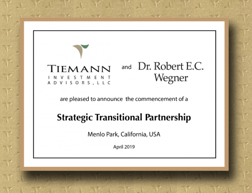 Bob Wegner and Jonathan Tiemann form Transition Alliance