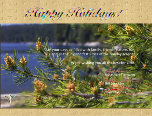 Holiday Greetings 2015