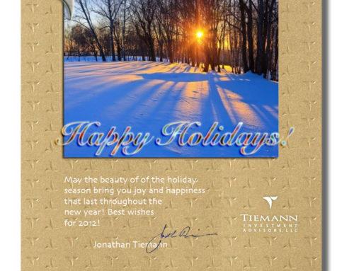 2011 Holiday Greetings