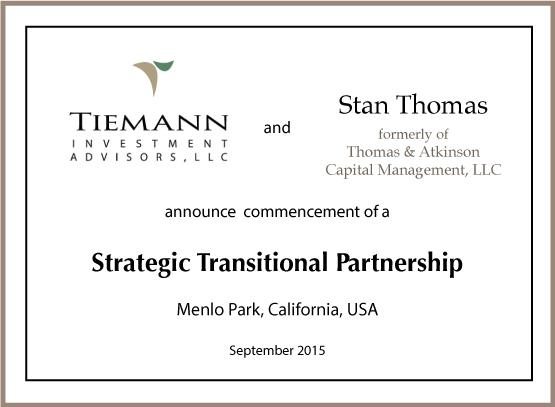 Thomas & Tiemann Strategic Partnership