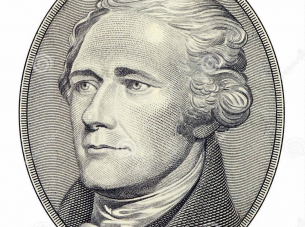 Engraving of Alexander Hamilton