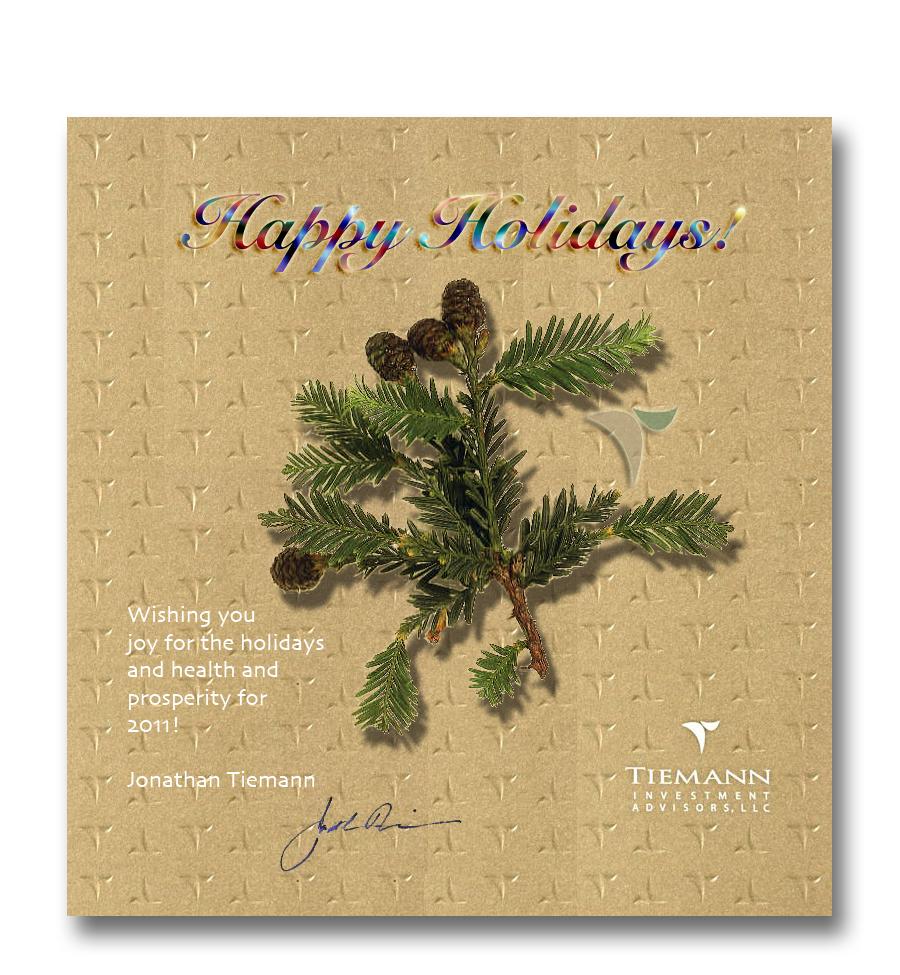 2010 Holiday Greetings