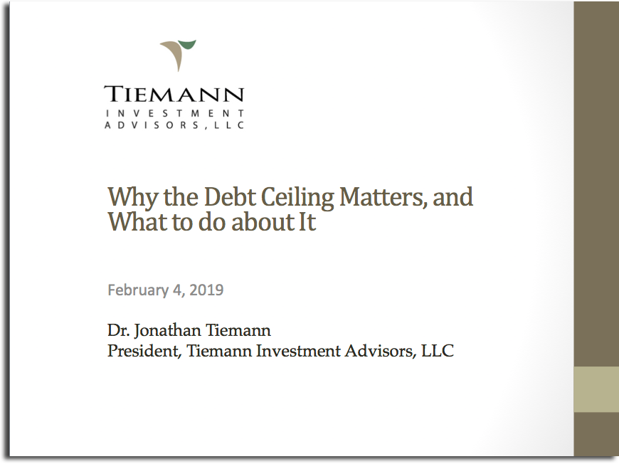 Why the Debt Ceiling Matters — and What to do About It